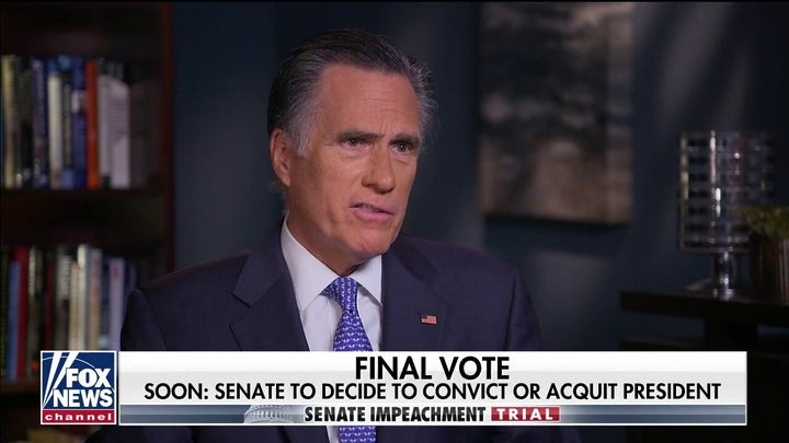 Chris Wallace: Romney went through 'real torment' in weighing impeachment trial vote