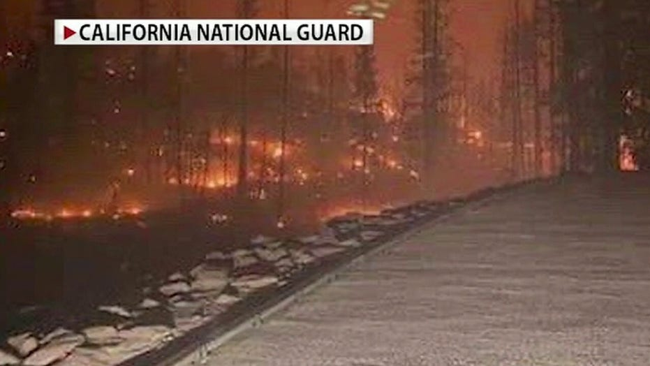 Creek Fire in California generates smoke clouds up to 50,000 feet, campers rescued