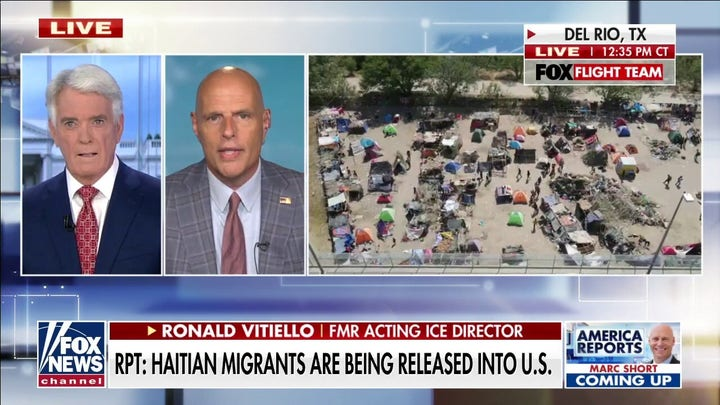 Haitian migrants are being released into the U.S.