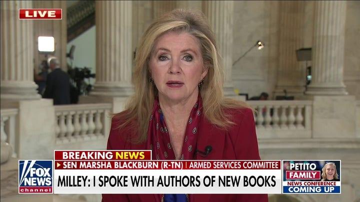Sen. Blackburn slams Milley for speaking to 'Peril' authors