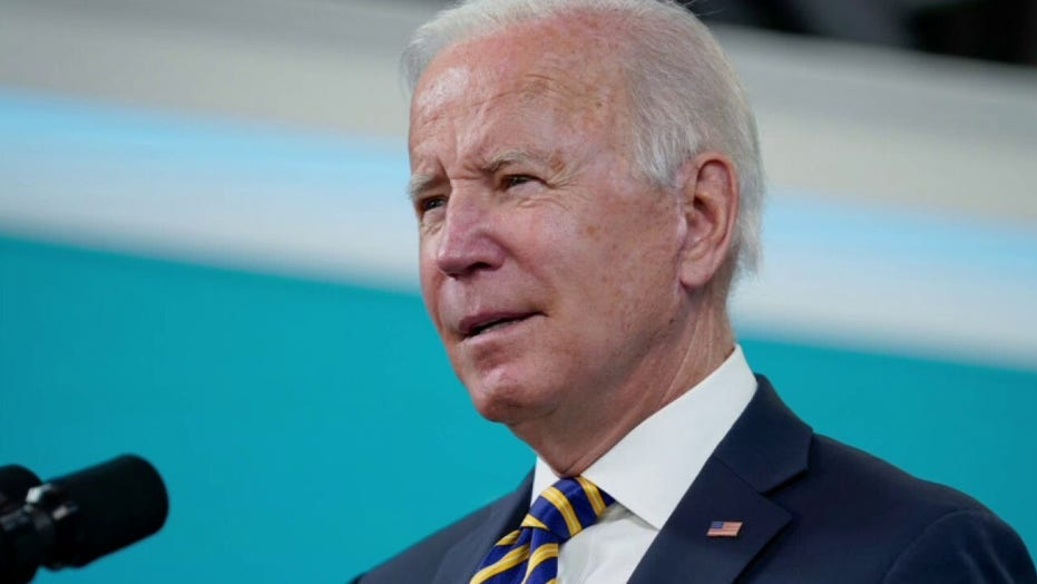 'Special Report' on sinking approval rates for President Biden