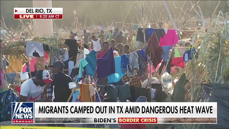 Mayorkas rushes to Texas border sector overwhelmed by migrants, admitting 'challenging situation'