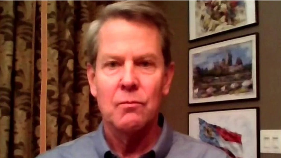 Gov Kemp: 'Outrageous' what the left is saying about Georgia election law, 'hypocrisy rampant'