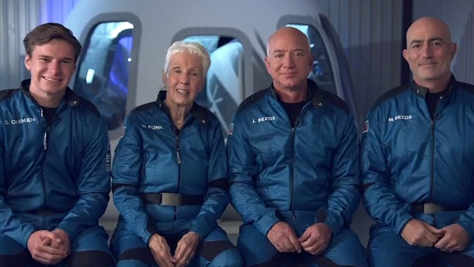 How Jeff Bezos, Blue Origin crew trained for historic spaceflight