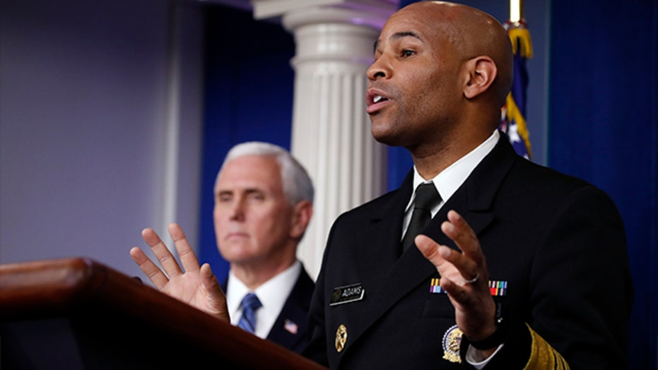 Surgeon general warns Americans to expect grim coronavirus numbers, but sees light at the end of the tunnel