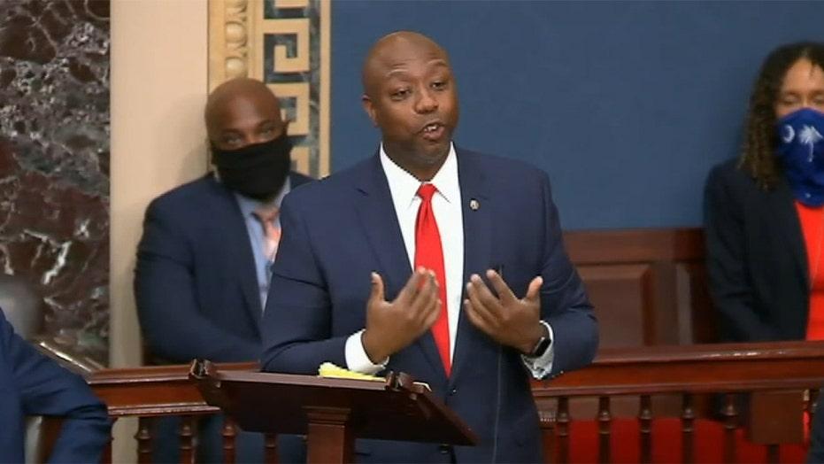 Sen. Tim Scott blasts Democrats after police reform bill fails in Senate
