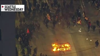 Violent Inauguration Day protests take place on West Coast