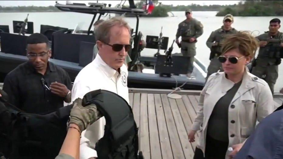 Maria Bartiromo tours Rio Grande with Texas AG Ken Paxton amid migrant surge