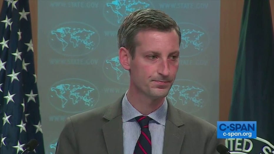 State Dept briefing gets heated as reporter asks if Biden admin taking credit for Trump accomplishments