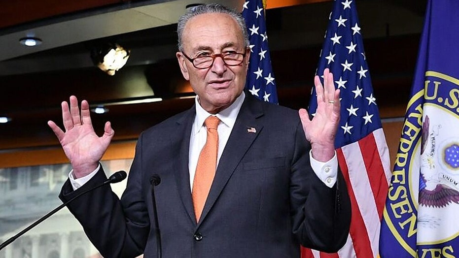 Sen. Schumer holds a press conference
