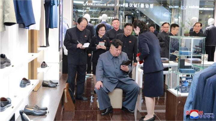 North Korea's Kim Jong Un's bizarre life is always on display