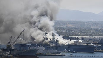 21 injured after explosion, fire breaks out on USS Bonhomme Richard