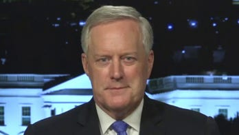 Mark Meadows: Our adversaries can smell the fear on Biden