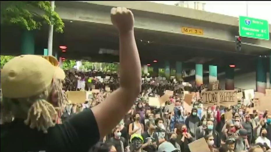 Seattle cancels curfew amid protests over George Floyd's death in police custody in Minneapolis