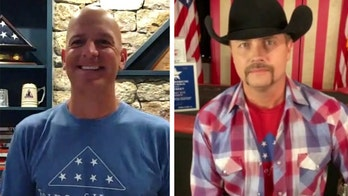 Country star John Rich and Lt. Col. Dan Rooney honor military members ahead of the Fourth of July