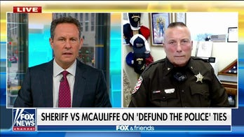 VA sheriff on confronting McAuliffe over 'defund police' ties: 'We don't need anybody working against us'