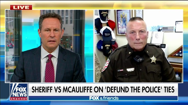 Virginia sheriff calls out Terry McAuliffe: He accepts endorsements from anyone