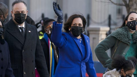 Juan Williams chokes up over Kamala Harris' oath of office, thinks of his granddaughters