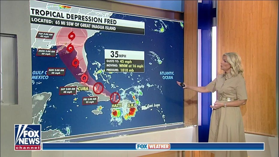 Fred becomes tropical depression, but these areas should monitor its track