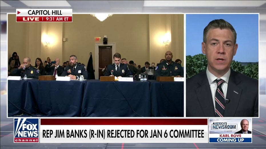 Rep. Banks says Pelosi must answer questions about intelligence reports prior to January 6th