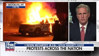 Rep. Kevin McCarthy says only peaceful protests honor George Floyd's memory