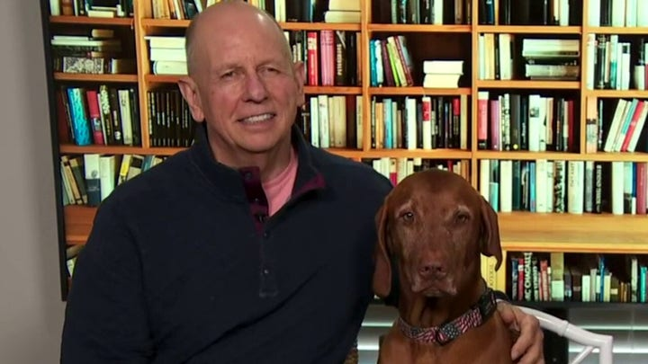 Dana and her husband tell a story about their dog Jasper