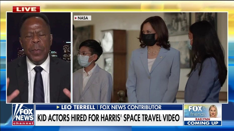 CNN, MSNBC, ABC, CBS, NBC ignore Kamala Harris' widely mocked space video featuring child actors