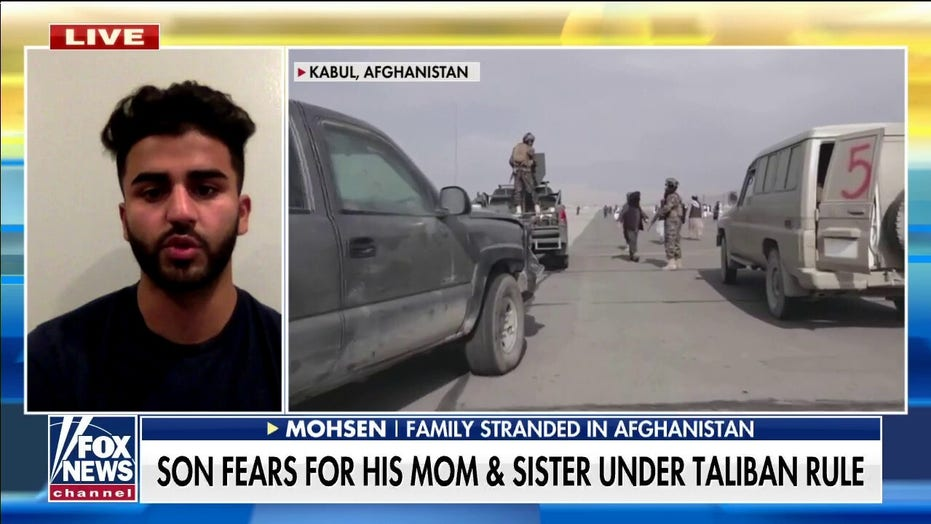 New Jersey man says family stranded in Afghanistan, blocked from airport despite holding US passports