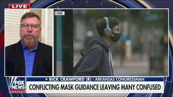 Rep. Crawford on mask mandates confusion, infrastructure bill debate
