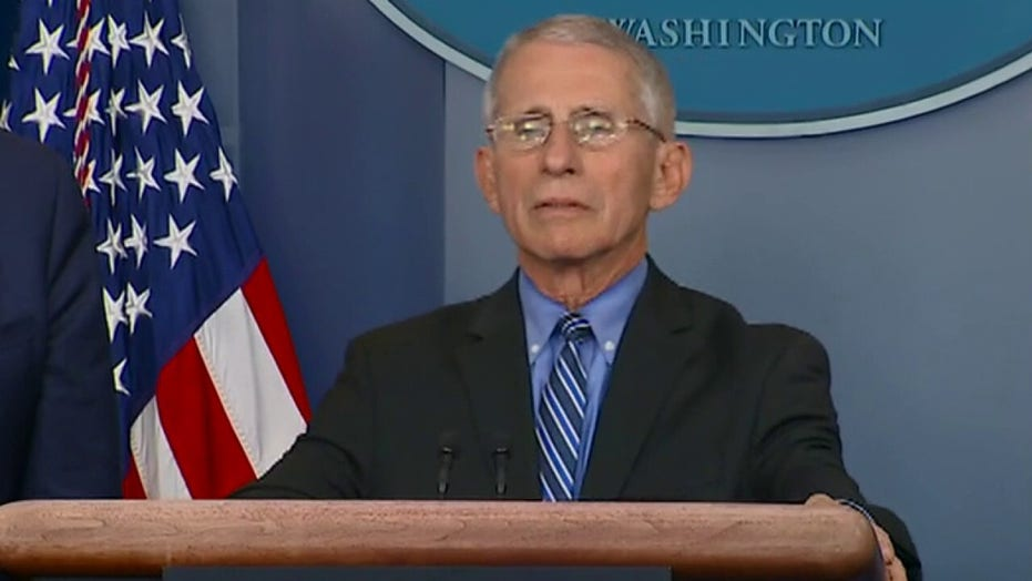 Dr. Fauci pushes back on Trump's Easter reopen target