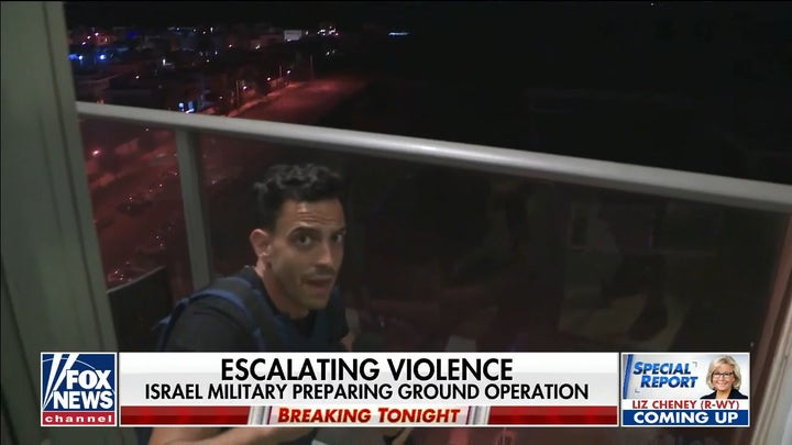 Israel military preparing for ground operation as violence escalates