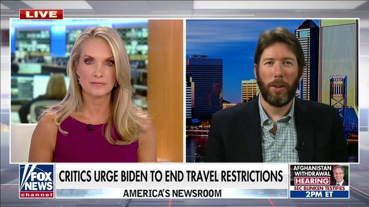 Critics urge Biden to end travel restrictions