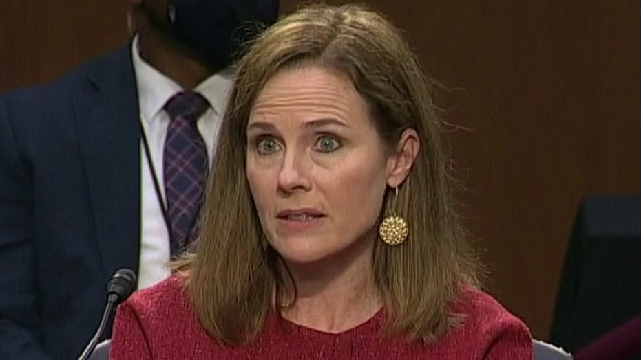 Amy Coney Barrett on ObamaCare: 'I'm not hostile to the ACA'