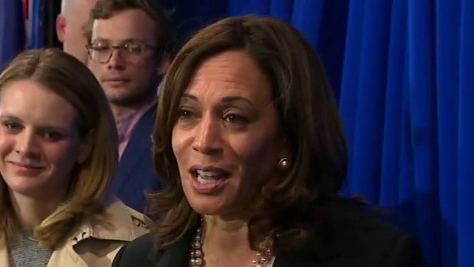 Biden names Harris as 2020 running mate