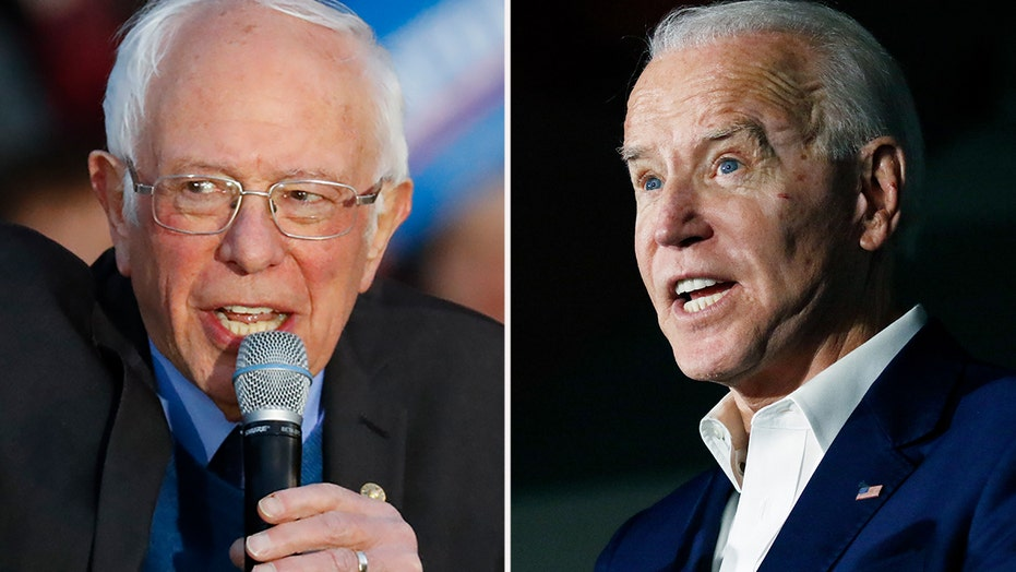 Biden and Sanders battle it out ahead of 'Mini Super Tuesday'