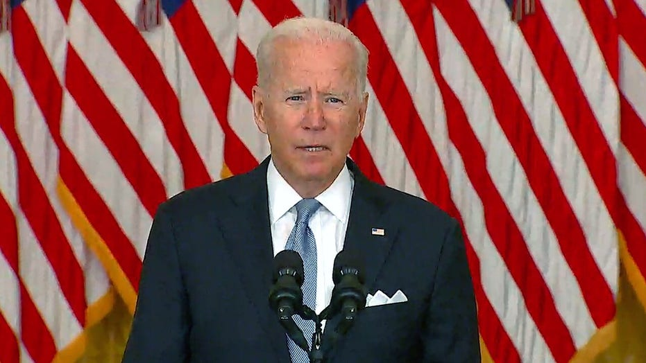 Biden defends Afghanistan withdrawal amid criticism, crisis