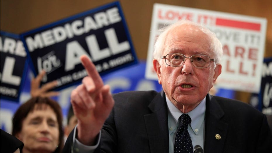 What is Bernie Sanders' stance on health care?