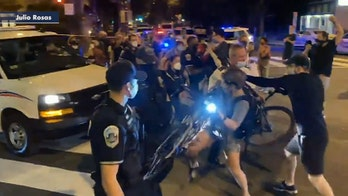 DC police: 41 protesters engaged in 'rioting behaviors' arrested