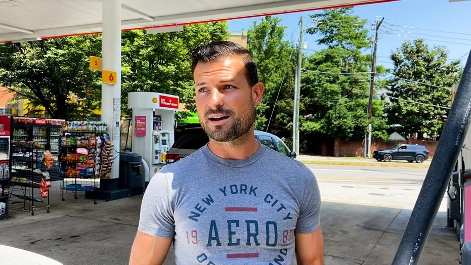 Gas customers react to soaring prices in Arlington, Va.