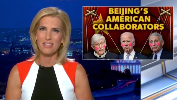 Ingraham: Who's really covering up for China's involvement in COVID origins
