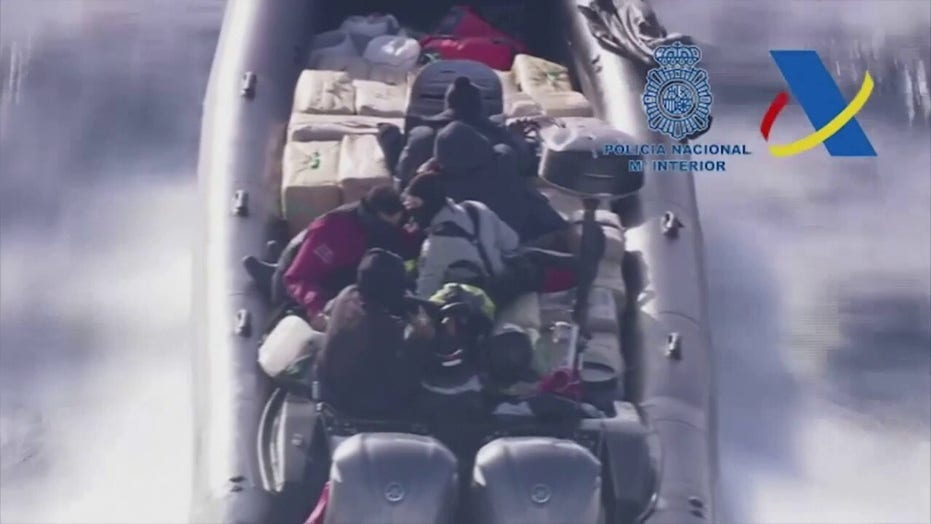 Spain police seize 2 tons of drugs after high-speed boat chase
