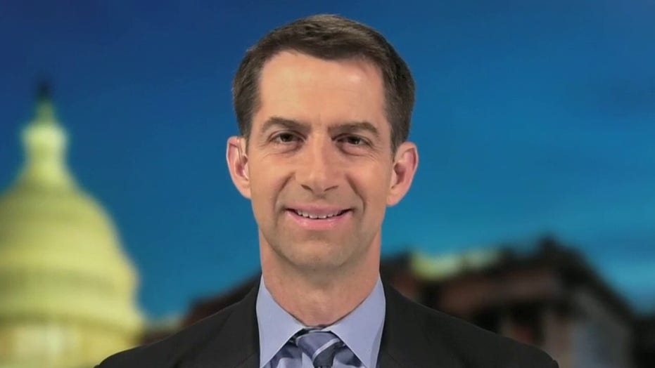 Sen. Tom Cotton on bill to cut US dependency on China for pharmaceuticals