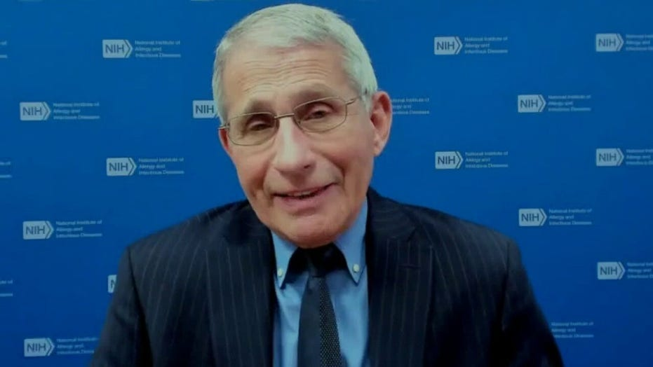 Dr. Fauci pressed on vaccine availability, asked whether media focuses too much on relationship with Trump