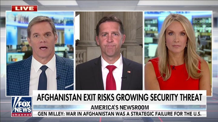 Sasse on Afghanistan fallout: 'Really difficult to understand what Joe Biden is doing'