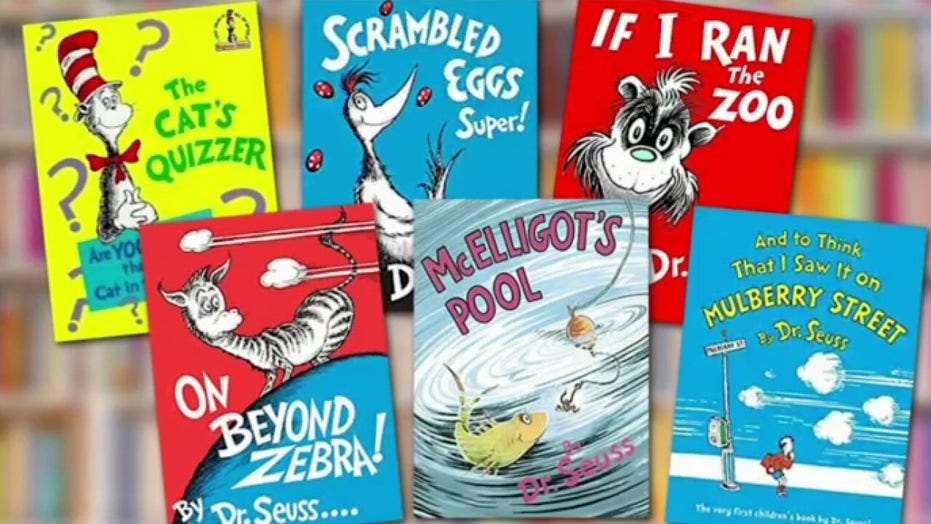 Dr. Seuss books' sales soar after 6 titles canceled for 'racist' imagery | Fox News