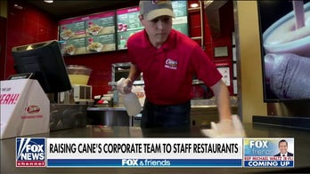 Raising Cane's exec says corporate team will staff restaurants amid 'challenging times'