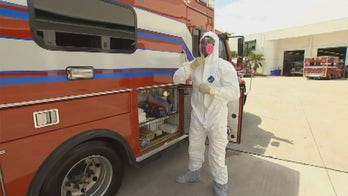 Miami Beach Fire forms first COVID-19 unit to protect responders with hazmat suits