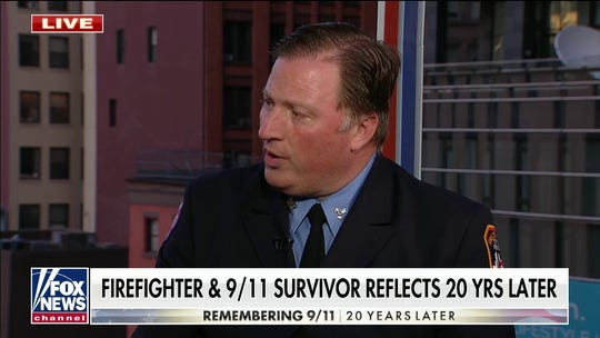 New York firefighter reflects on 9/11 20 years later