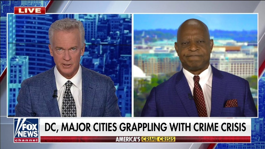 Ted Williams reacts to DC crime, police reform