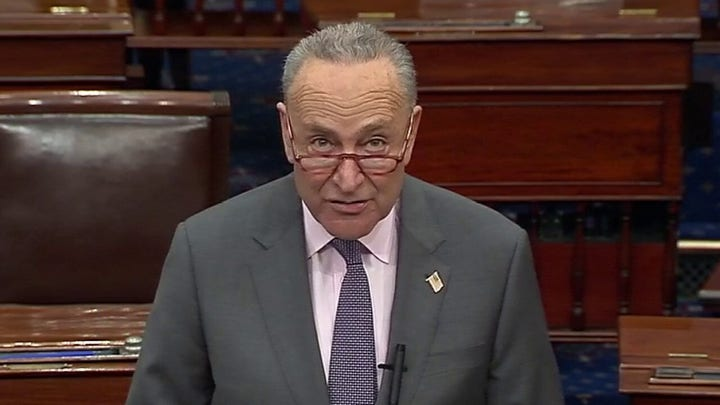 Schumer on coronavirus: 'We're almost certainly anticipating a recession'